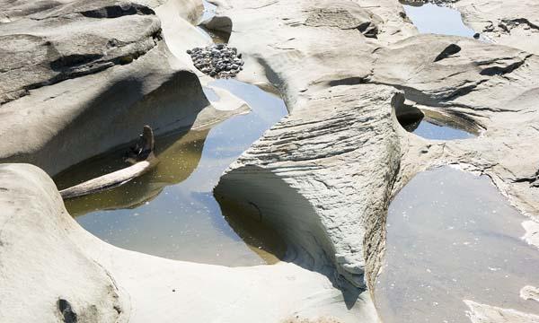 Sandplatte 1 (Flussbett bei Bregenz am Bodensee)